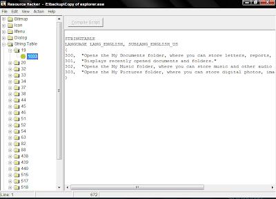 resource hacker screenshot
