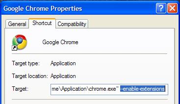 chrome-properties