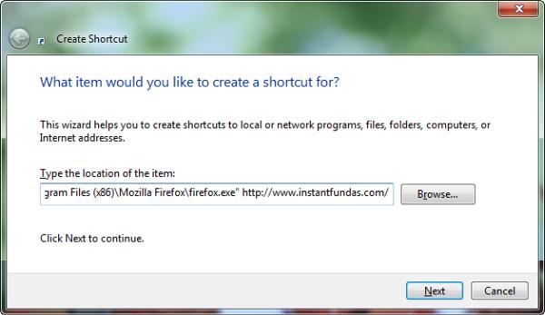 create-shortcut-website
