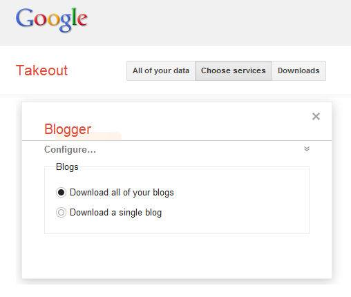 google-takeout-blogger
